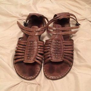 Women's Frye vintage sandals Rare